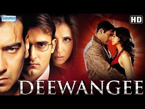 Deewangee (HD) - Ajay Devgan | Urmila Matondkar | Akshay Khanna - Hindi Movie - (With Eng Subtitles)