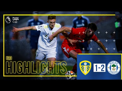 Summary: Leeds United U23 1-2 Wigan Athletic U23 |  Kris Moore finishes off the young white side |  PL cup