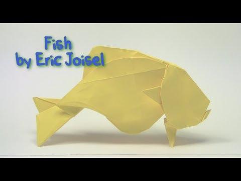 Origami Fish By Eric Joisel Part 1 Of 2 Yakomoga Origami