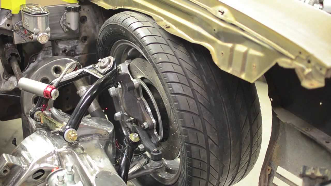 Erodz Customs Project Go For Broke 1970 Chevelle, Air Suspension Mock Up