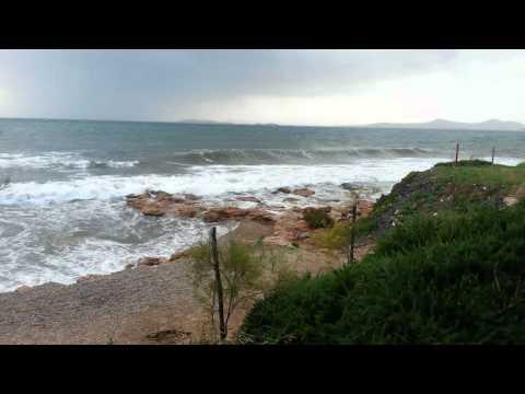 Windy Day at the Beach- Paralia Kalyvion Greece