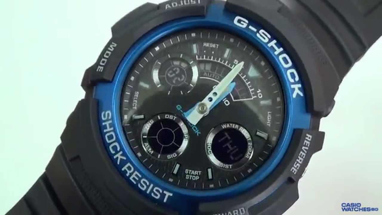 Casio - G-Shock AW-591-2AER - YouTube 56acbf490a