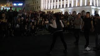 Танцевальные батлы Крещатика,Вечерний Киев часть12 - Dance Battles Khreshchatyk,Kiev Evening part12