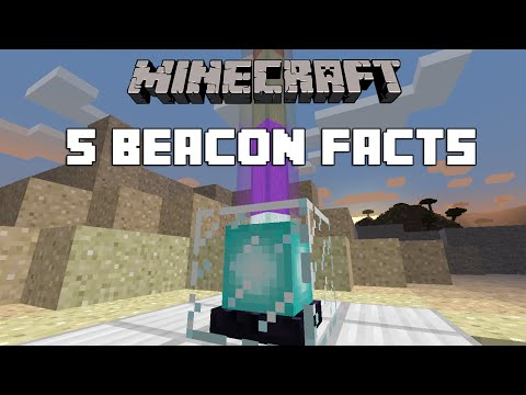 Minecraft - 5 Beacon Facts And Tricks You Didn't Know