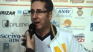11-10-2011: Le prime parole di Vincenzo Di Pinto alla guida della NewMater