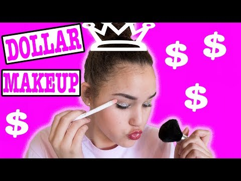 Full Face Using Only Dollar Store Makeup!