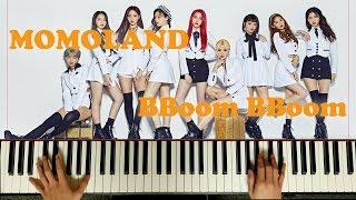 MOMOLAND (모모랜드) _ BBoom BBoom (뿜뿜) Piano Accompaniment Cover