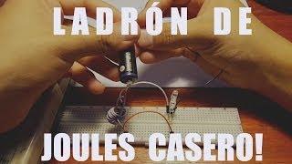 Construye tu propio Ladrón De Joules! Recicla tus Pilas!