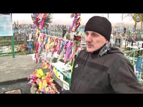 Растущие кресты на Борисоглебском кладбище в Турове