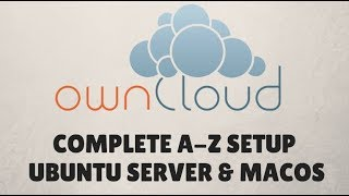 ownCloud Setup Ubuntu Server