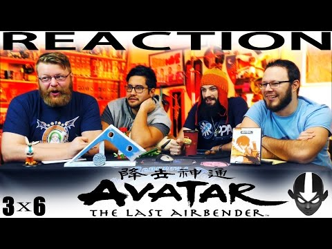 """Avatar: The Last Airbender 3x6 REACTION!! """"The Avatar and the Firelord"""""""