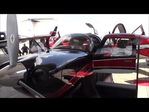 2 Doors - Mooney Acclaim Ultra - Carbon Fiber Fusealage Overview