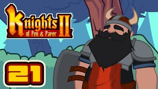 At Last, The Barbarian! - Let's Play Knights of Pen & Paper 2 - Part 21