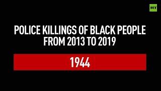 Timeline of black people killed by US police since 2013