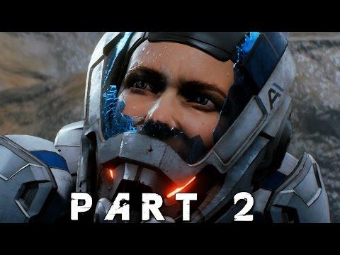 MASS EFFECT ANDROMEDA Walkthrough Gameplay Part 2 - Nexus (Mass Effect 4)