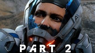 MASS EFFECT ANDROMEDA Walkthrough Gameplay Part 2 - Nexus (Mass Effect 4)
