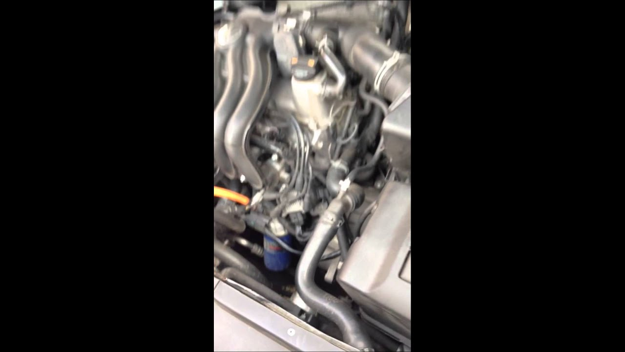 Impronta O Serial Del Motor En Un Vw Jetta A4 Youtube