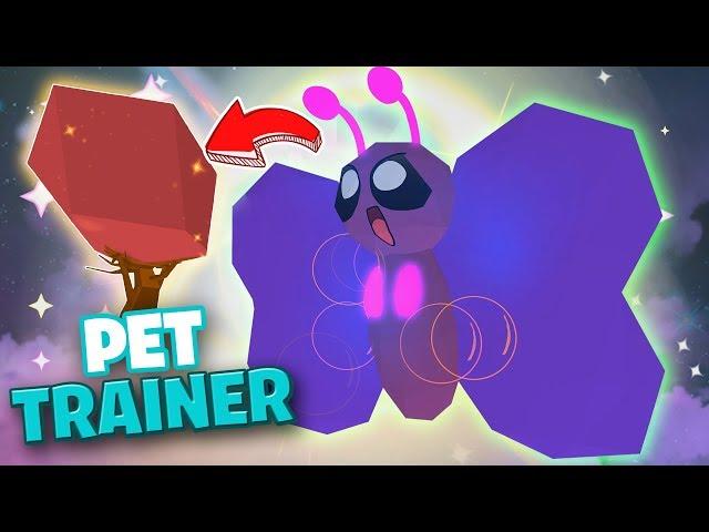 Evoluciono Todas Mis Pets Y Me Dan Algo Legendario Pet - nuevo arbusto gigante y pet salvaje roblox pet trainer