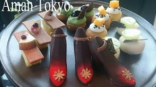 MUST TRY! Aman hotel in Tokyo's white afternoon tea
