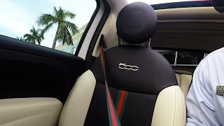 Gucci Fiat 500C 2011 Videos