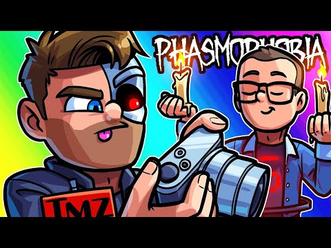 Phasmophobia Funny Moments - Brian's the Worst TMZ Employee Ever!