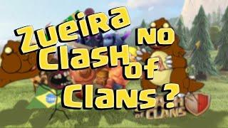 Clash of Clans - ZUEIRA NO CLASH? | UMA EDIÇÃO FORA DO NORMAL