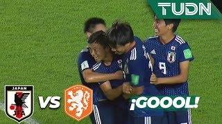 ¡Goool de Japón! Wakatsuki anota el 1-0 | Japón 1 - 0 Holanda | Mundial Brasil Sub 17 - J 1 | TUDN