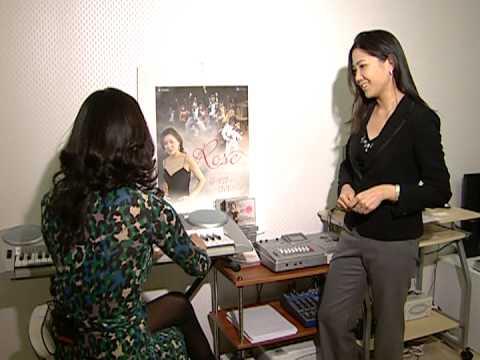 Diva Rose Jang in Arirang TV Culture News LIVE 2009