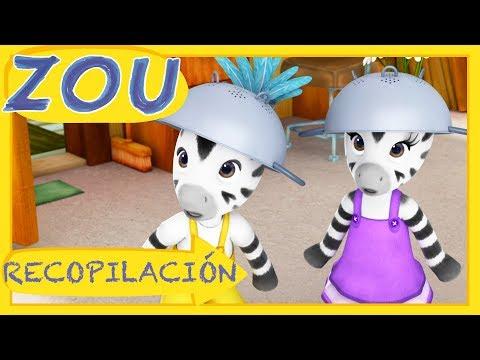LO MEJOR DE ZOU ⭐️RECOPILACIÓN ⭐️Dibujos animados 2018 | Zou en español