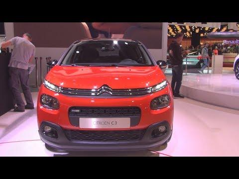 Citroën C3 (2017) Exterior and Interior in 3D