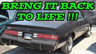 JUNKYARD RESCUE! Buick Scrap National Part 2 - Steps to get an old car running again