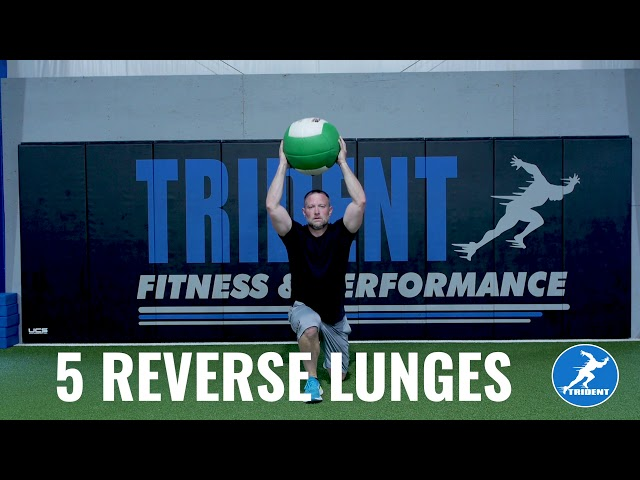 MedBall Madness: Trident Fitness Workout Tutorial