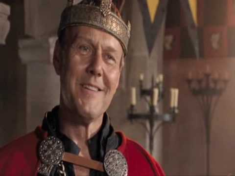 Merlin 2x06 - Uther, Morgana and Arthur: She's a troll?!