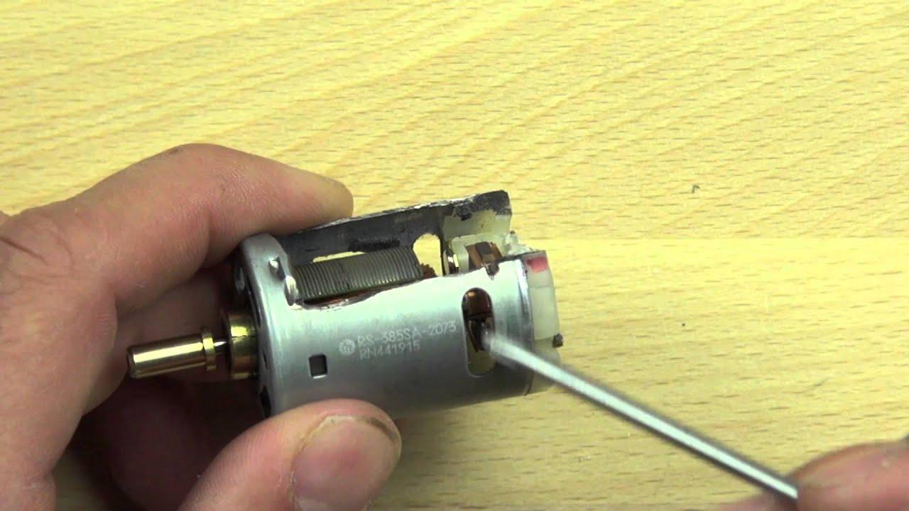 Brushed Dc Motor Explained Youtube