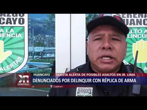 DENUNCIADOS POR DELINQUIR CON RÉPLICA DE ARMA