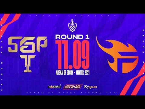 SAIGON PHANTOM vs TEAM FLASH | SGP vs FL - Vòng 1 ĐTDV mùa Đông 2021 (11/09)
