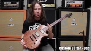 A One of Kind Custom Guitar, Named Odd Made By Crimson Guitars (#Demo)