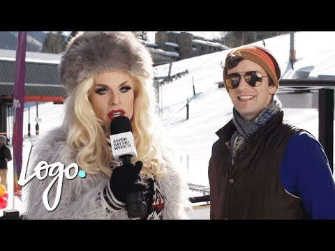 Aspen Gay Ski Week '16  Good Morning Aspen w Katya & Michael Urie  Logo