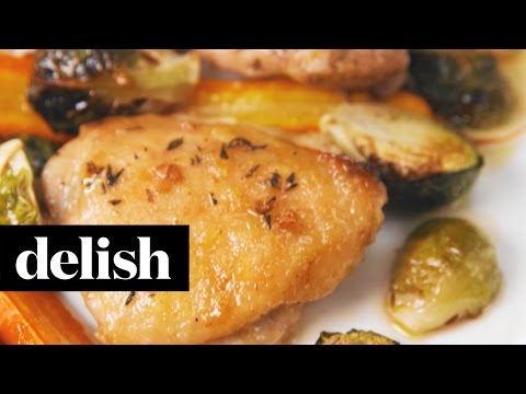 Brown Sugar, Garlic And Herb Chicken Thighs | Delish + Splenda