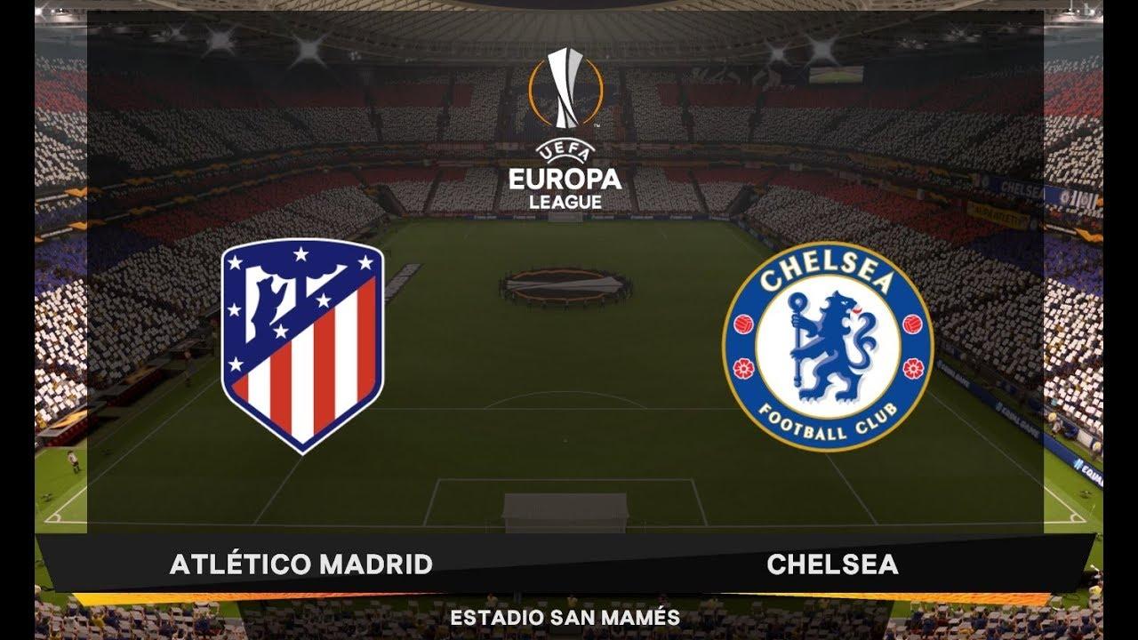 FIFA 19 Atletico Madrid vs Chelsea ( Uefa Europa League Final ) - YouTube