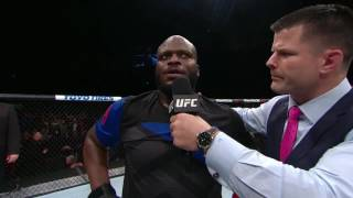 Fight Night Halifax: Derrick Lewis Octagon Interview