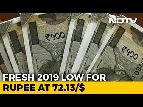 Rupee Declines By 51 Paise To Hit New 2019 Low Against Dollar