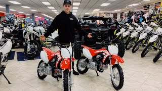 BOUGHT A BRAND NEW 2019 CRF110F PITBIKE!!