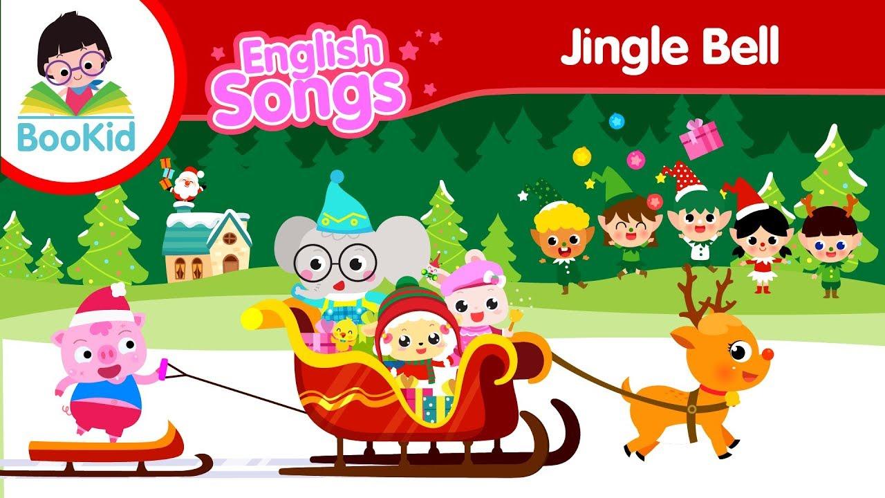 Jingle Bell   Christmas Song   Kids Songs   Nursery Rhymes   BooKid 🔔🔔🔔 - YouTube