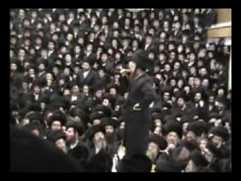 Isaac Honig singing For Satmar Rebbe, Rabbi Moshe Teitelbaum