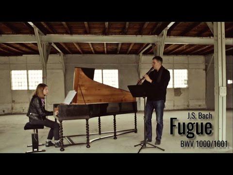 J.S. Bach: Fugue (BWV 1000/1001) - Dominik Schneider / Marta Dotkus