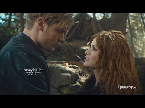 Shadowhunters 2x16 Jace saves  Clary & Clears her Mind - Fight Scene   Season 2 Episode 16