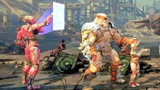 Mortal Kombat XL All Faction Kill Victory Poses