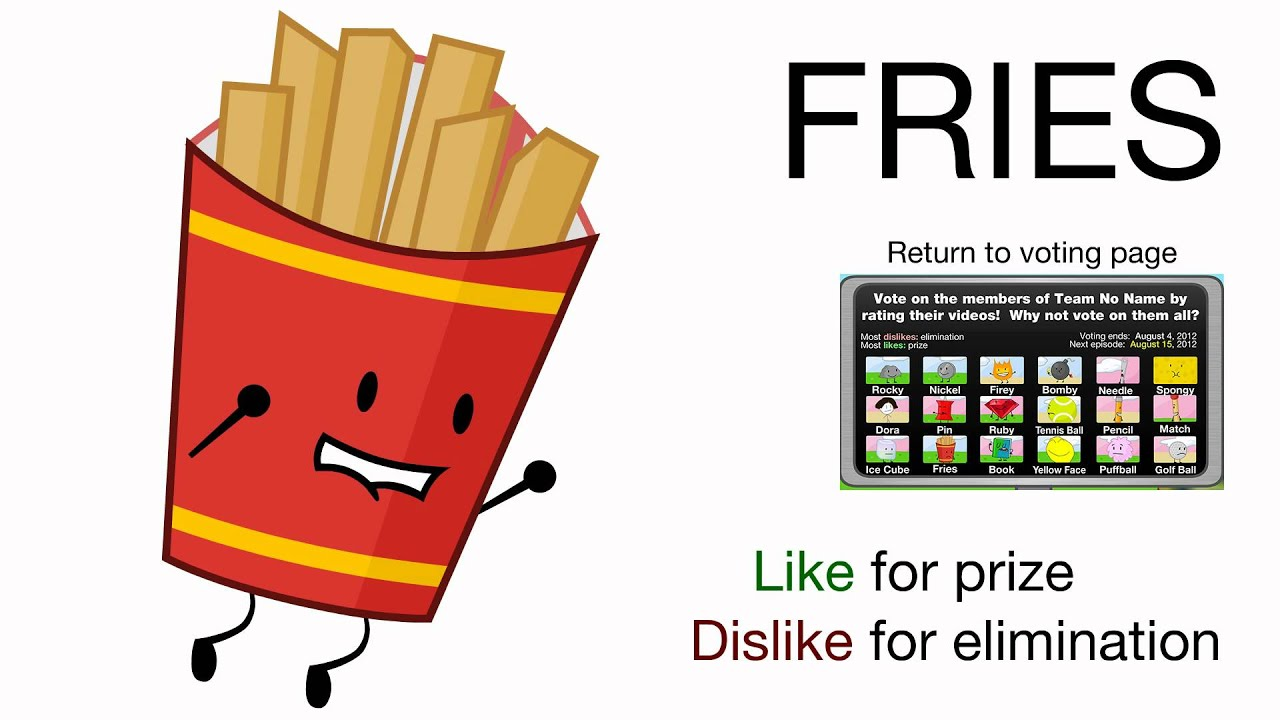 Vote for Fries (BFDIA 2) - Vote for Fries!