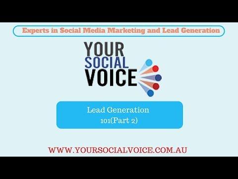Lead Generation 101( Part 2)